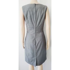 H&M Dresses - H&M size 10 fitted waist, gray dress